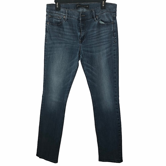 Express performance stretch skinny mid rise jeans